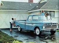 66 Ford truck ad