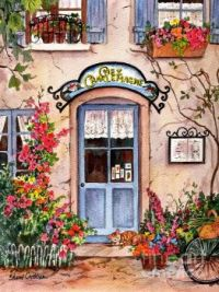 French Cafe Poster by Sherri Crabtree