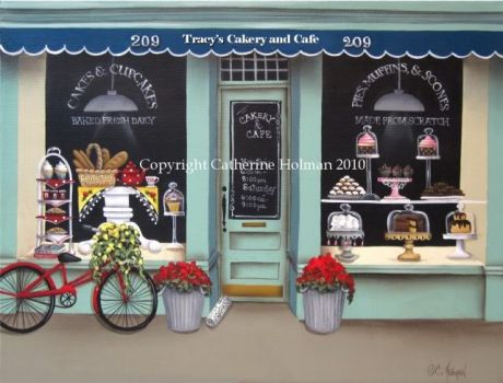 little cake shop