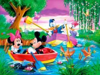 Mickey Mouse Boat 252