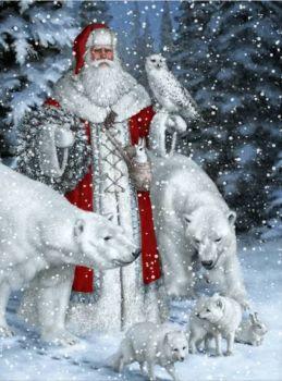 Santa and Friends