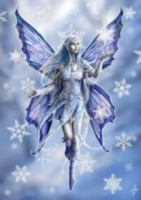 Snowflake Fairy by Anne Stokes