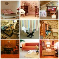 dollhouse rooms ~ multiple image #4