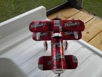 Soda can plane