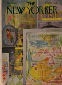 The New Yorker - February 6, 1971 /vCover art by Charles E. Martin