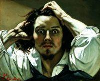 Gustave Courbet - Self Portrait