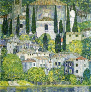 Gustav Klimt, Church in Cassone