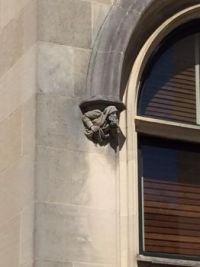 Gargoyle outside of Biltmore House