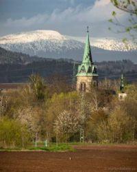 Kostel sv. Jakuba v Přepeřích u Turnova