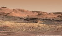 """Stunning new panorama of the foothills of Mount Sharp on Mars"""