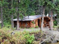 Athabascan Cabin in Alaska