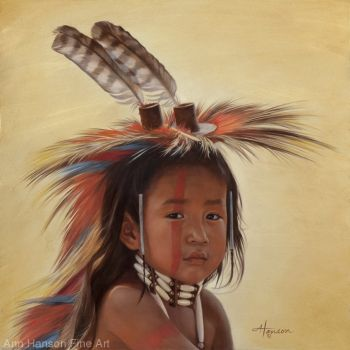 2. ~  'Young Crow Dancer'