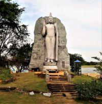 Buddha Monument, Sri Lanka