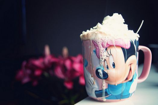 Minny Mouse Coffee