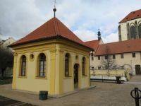 Zahradní domek, františkánská zahrada Praha
