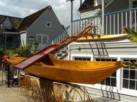 Canoe display on the Island of Maui I
