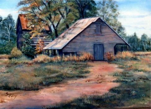Country Barn by Sue Coley