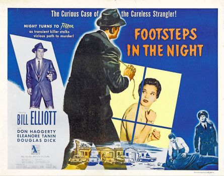 Footsteps In The Night - 1957