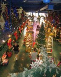 Inside the Christmas Shop