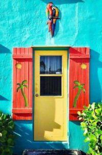 Beach House Door.....