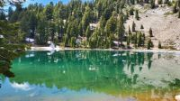 Emerald Lake ,  Lassen National Park