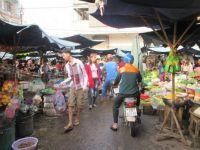 Market in Go Dau, Vietnam