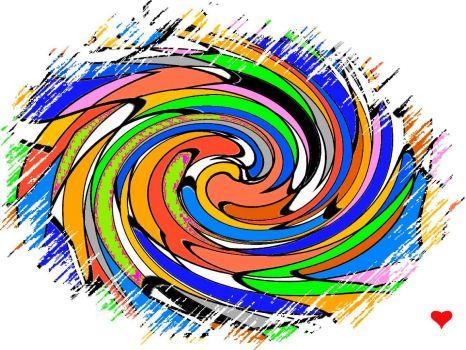 Oval Swirl - Tiny