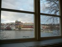Prague Castle - view from the window of Charles Bridge Museum