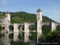 FRANCE – Cahors – Valentré Bridge