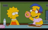 lisa & milhouse