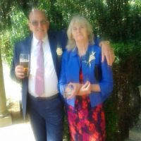 Me and my lovely wife Alice 3rd August  2015 nephews wedding reception Poole Dorset