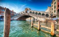 Bridge Over Venetian Waters