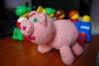 crochet pig / háčkované prasátko