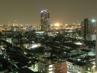 Bangkok by night. From our Hotel room