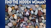 Can you find the hidden woman?
