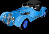 BMW Roadster-Blue