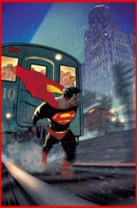 Superman Vol. 5 #10 - variant cover by Adam Hughes