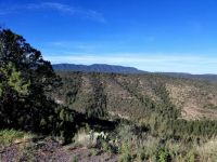 Gila Wilderness mountains