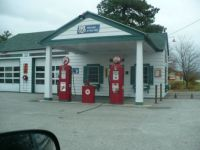 Gas Station, Old School
