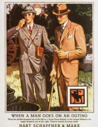 Vintage Fashion - When A Man Goes on an Outing