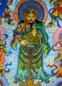 Chinese Mural Painting - Temple-Wall