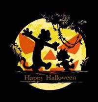 Calvin and Hobbs Halloween