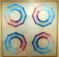 Judy Chicago, Pasadena Lifesaver, Blue Series #4