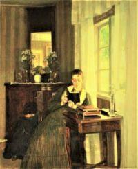 Reading Lady (1897)
