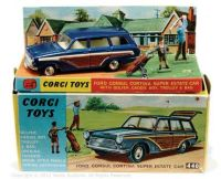 CORGI TOYS - FORD CONSUL CORTINA SUPER ESTATE CAR