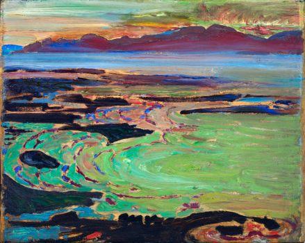 West Coast Sunset, Vancouver, Frederick Varly