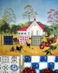 calico, quilts & apples