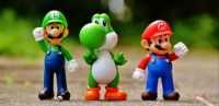 Super Mario Action Figures-Theme: Toys & Games