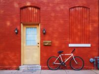 Red bricked