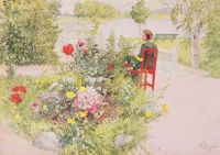"Carl Larsson, ""Summer in Sundborn"""